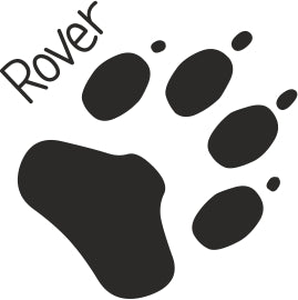 Dog Paw Print Enterprise Rubber Stamps