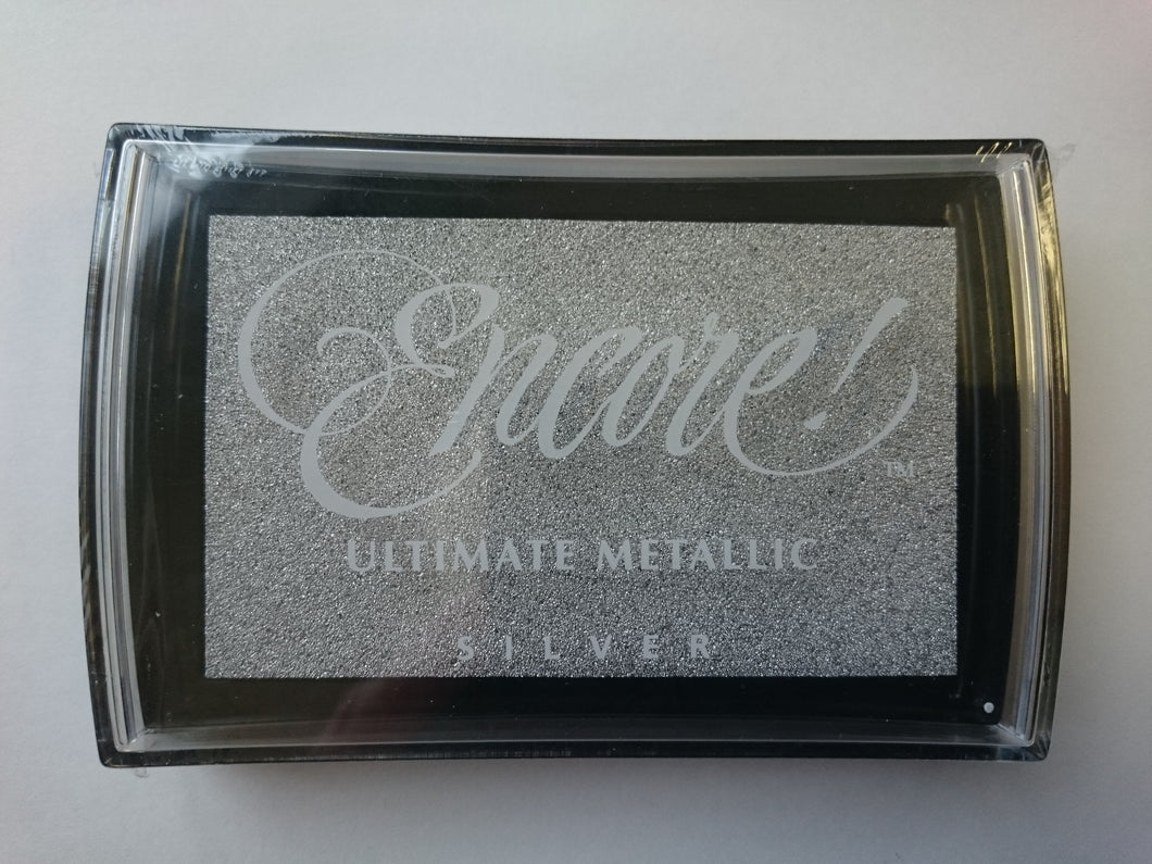 Metallic Ink Pad Silver