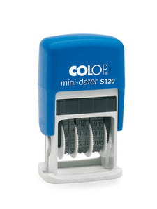 Colop Mini-Dater S120 + 2 Free Ink Pads