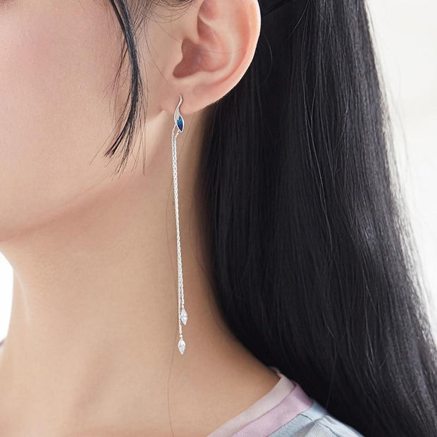 Aqua-Marine: The Earrings - Braceletts.eu