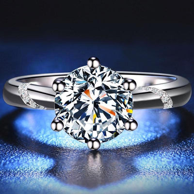 DIVɅ Ring (S925 0.5ct/1ct/2ct F) - Insignia Jewels