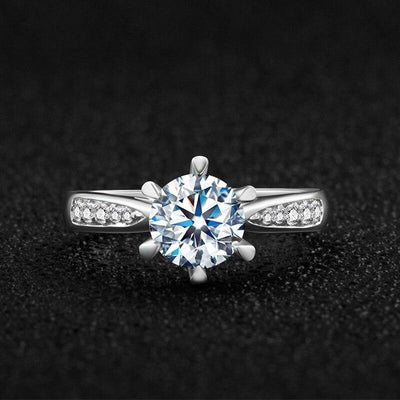DIVɅ Ring (S925 1ct/2ct/3ct F) - Insignia Jewels