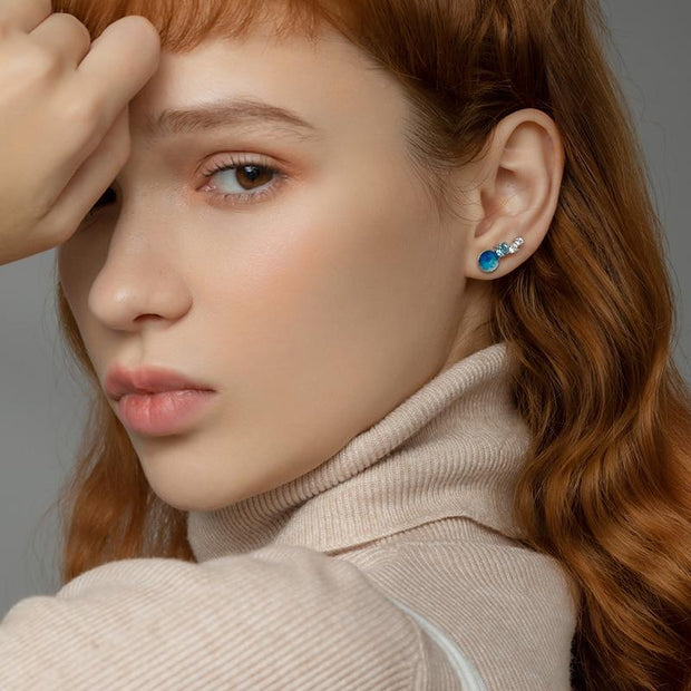 Infinity: The Earrings - Braceletts.eu