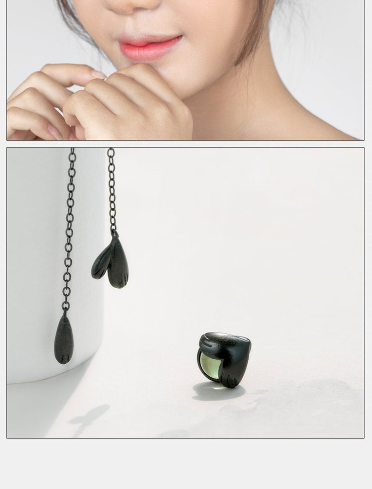 Night Forest: The Earrings - Braceletts.eu