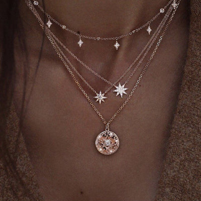 Night Star Necklace Set - Braceletts.eu