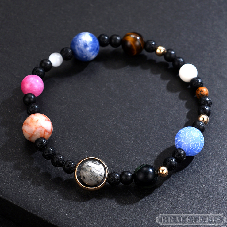 The Galaxy with Pluto v2 - Braceletts