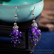 Purple Sky: The Earrings - Braceletts.eu
