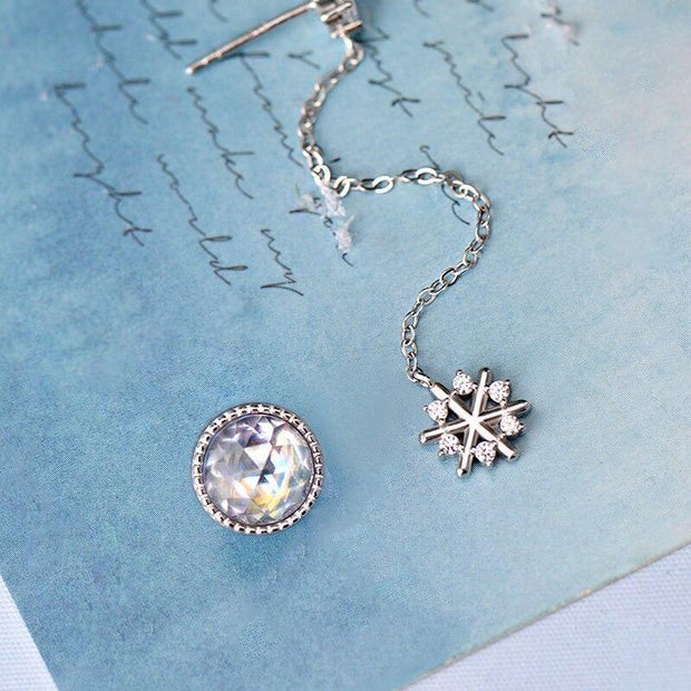 Snow Crystal: The Earrings - Insignia Jewels