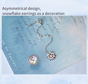 Snow Crystal: The Earrings - Braceletts.eu