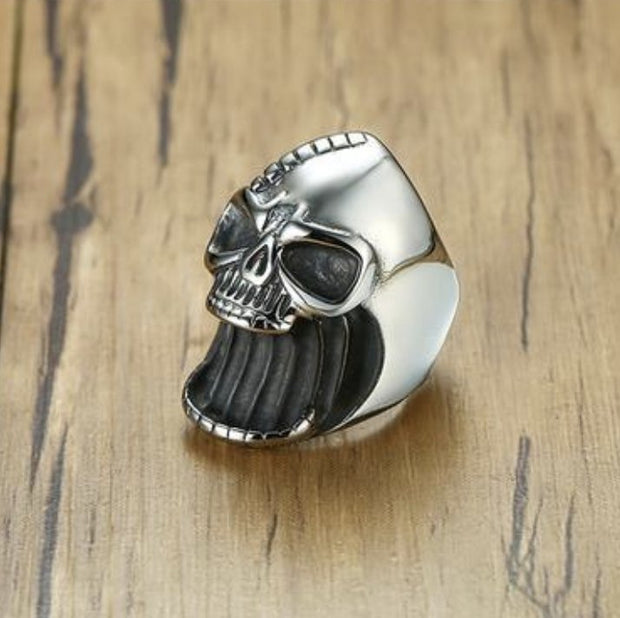 {SS} Bottle Opener Skull Ring - Braceletts.eu
