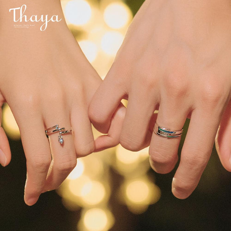Starlight: The Rings (for couples) - Insignia Jewels