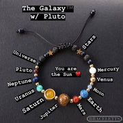 The Galaxy™️ with Pluto - Braceletts.eu