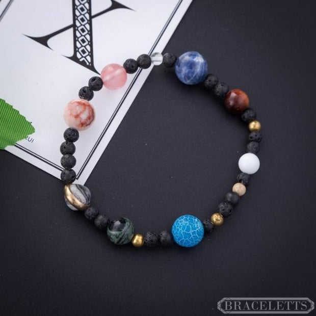The Galaxy™️ with Pluto v2 - Braceletts.eu