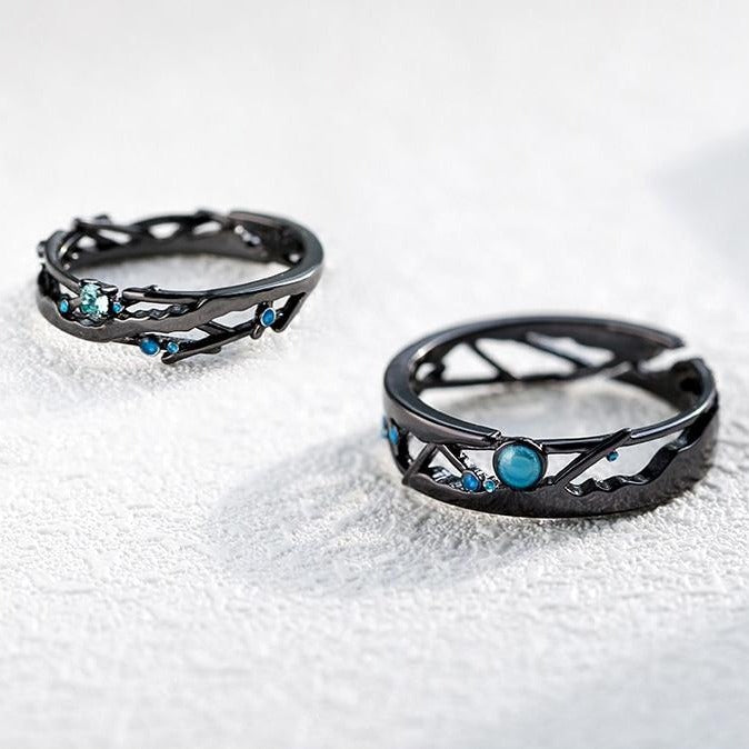 Twilight Galaxy: The Rings (for couples) - Braceletts.eu