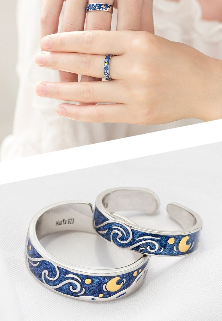 Van Gogh: The Rings (for couples) - Braceletts.eu