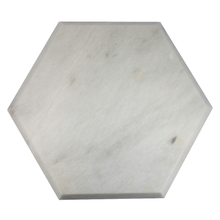 Load image into Gallery viewer, Hexagon Marble Cheese Board