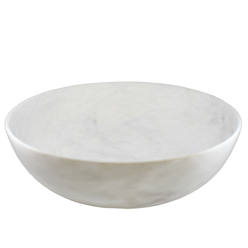 Large Marble Bowl Hand Turned 30cm