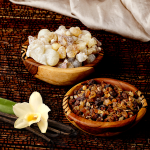 BREATHE: vanilla frankincense and myrrh