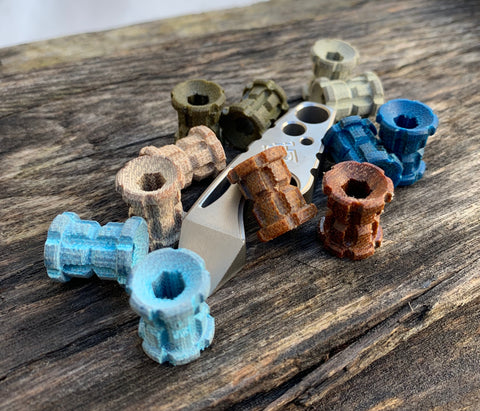 Ball-nose Lanyard Beads