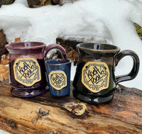 Koch Tools Insignia Deneen Pottery Ceramic Mugs