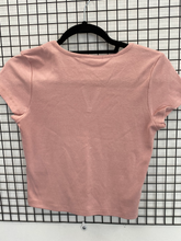 Load image into Gallery viewer, Short Sleeve V-cut Tshirt