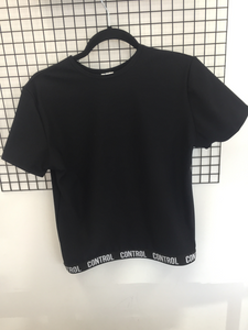 Short Sleeve Control Top