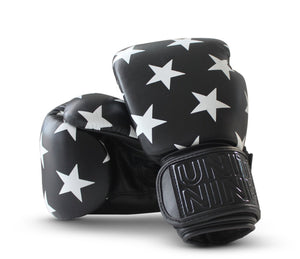Unit Nine Black Boxing Gloves