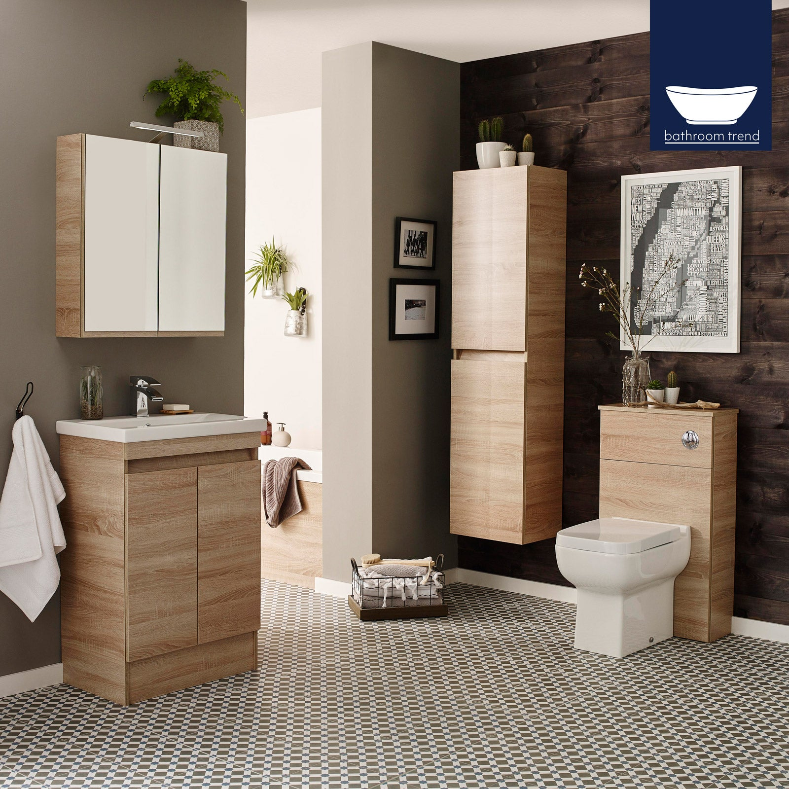 Details About Modern High Gloss Designer Bathroom Furniture Metal Draw Box Made In Uk