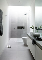 Modern open wetroom