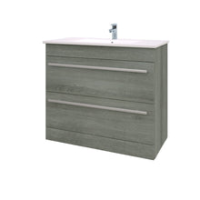Load image into Gallery viewer, Purity floor standing 2 draw vanity unit and basin - Bathroom Trend