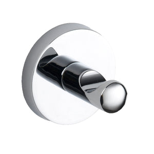 Plan chrome round robe hook - Bathroom Trend
