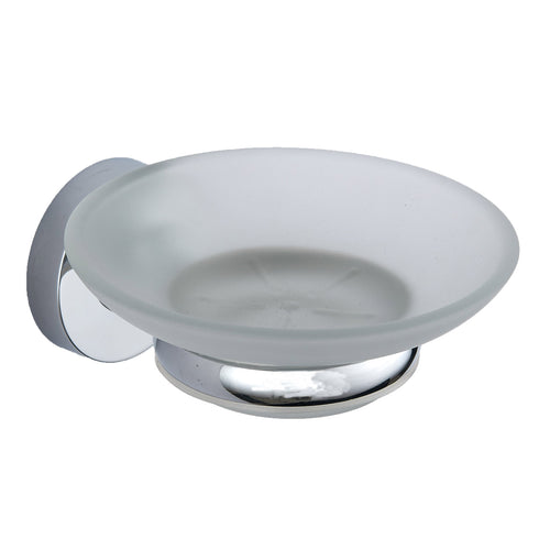 Plan chrome round soap dish - Bathroom Trend