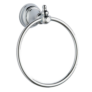 Astley chrome towel ring - Bathroom Trend