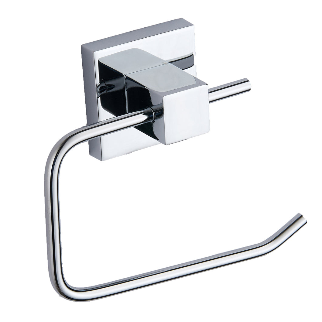 Pure chrome square toilet roll holder - Bathroom Trend