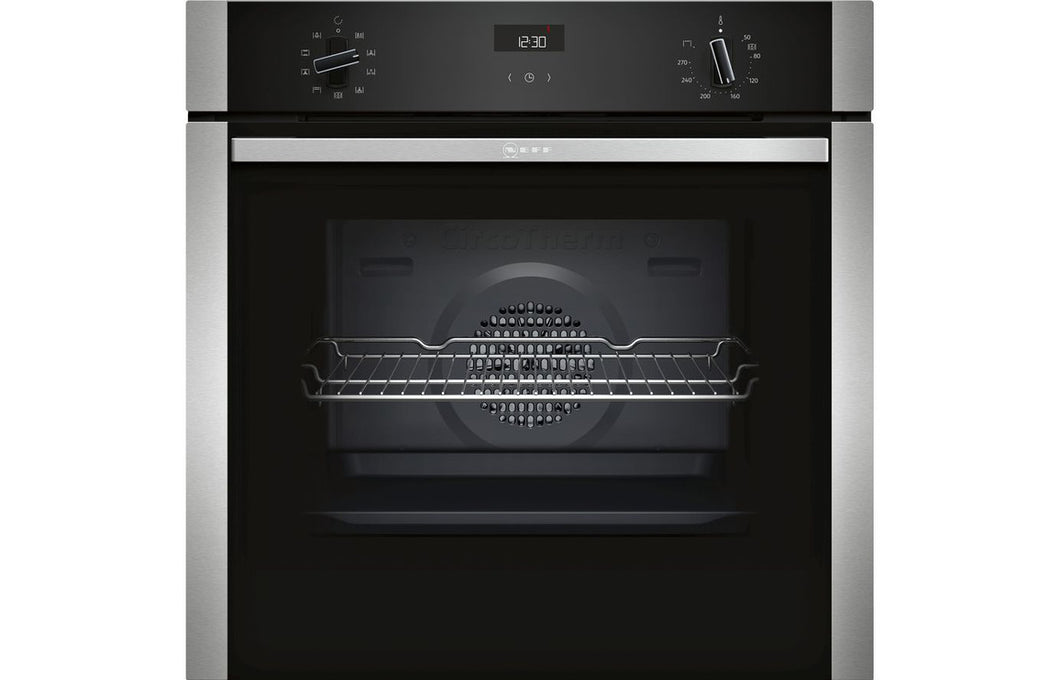 Neff N50 B1ACE4HN0B B/I Single Electric Oven - St/Steel