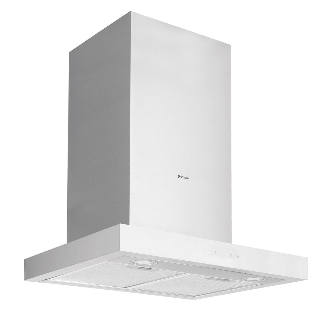 CAPLE | 600mm Stainless Steel Touch Control Wall Mounted Chimney Hood - Bathroom Trend