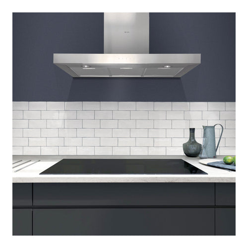 CAPLE | 900mm Stainless Steel Touch Control Wall Mounted Chimney Hood - Bathroom Trend