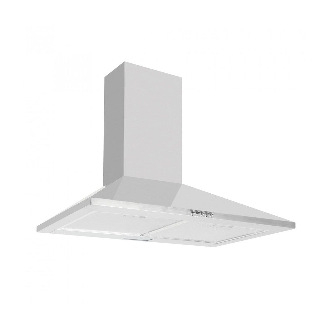 CAPLE | 700mm Stainless steel wall mounted chimney hood - Bathroom Trend
