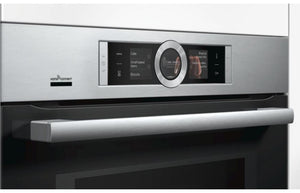 Bosch Serie 8 CMG656BS6B B/I Compact Oven & Microwave