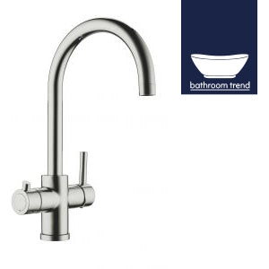 Scott & James | Chrome finish instant boiling water tap - Bathroom Trend