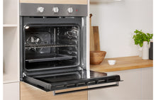 Load image into Gallery viewer, Indesit IFW 6230 B/I Single Electric Oven