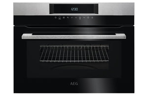 AEG KMK761000M B/I Compact Microwave & Grill - St/Steel