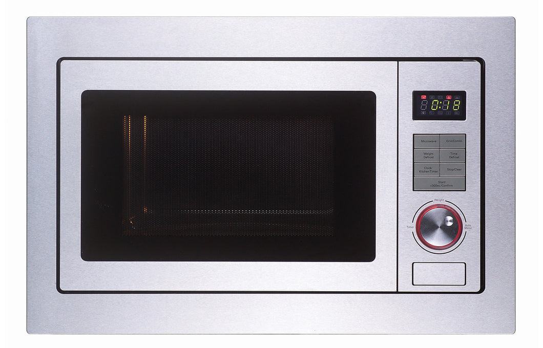 Prima LCTM25F Framed B/I Microwave & Grill - St/Steel