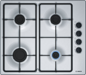 BOSCH | Stainless Steel 4 Gas Cooker Hob - Bathroom Trend