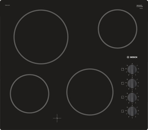 Bosch | Black Ceramic 4 Cooker Hob - Bathroom Trend