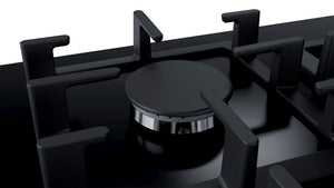 BOSCH | Black Tempered  Glass 6 Gas Cooker Hob - Bathroom Trend