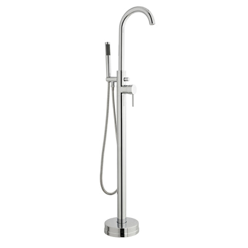 Plan free standing bath shower mixer - Bathroom Trend