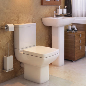 Pure four piece bathroom toilet and basin set - Bathroom Trend