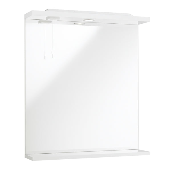 Impakt illuminated bathroom mirror - Bathroom Trend