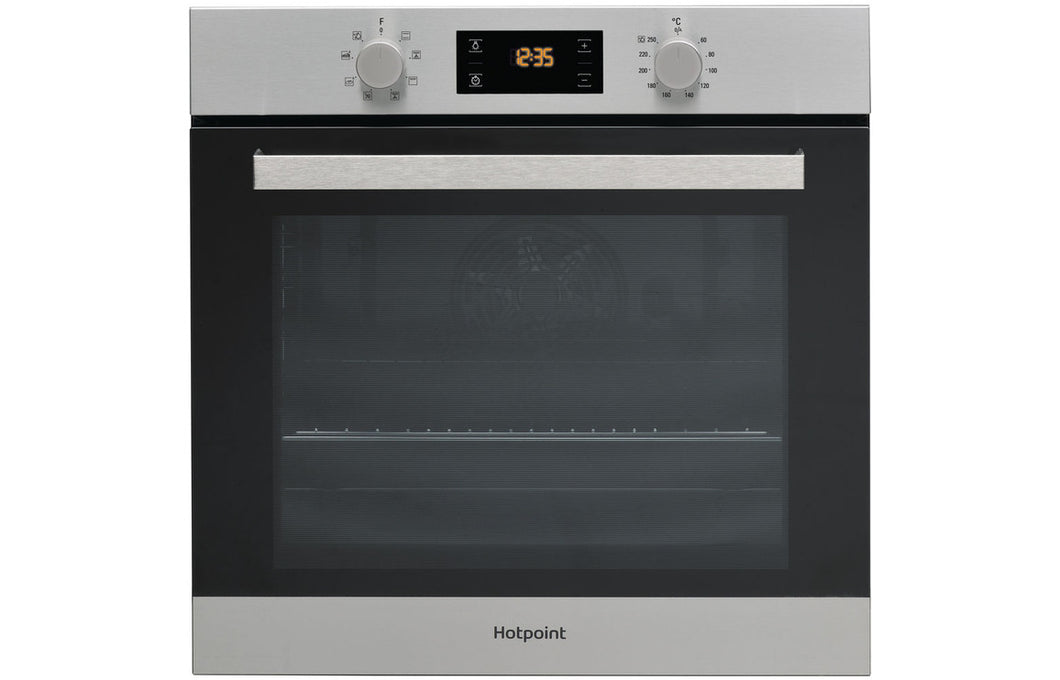 Hotpoint SA3 540 H IX B/I Single Electric Oven - St/Steel